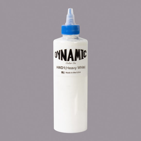 Dynamic Heavy White 8 oz.