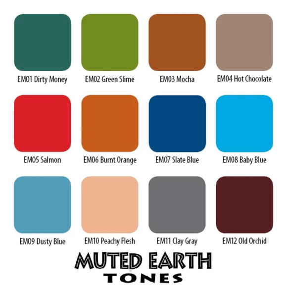 Muted Earth Set
