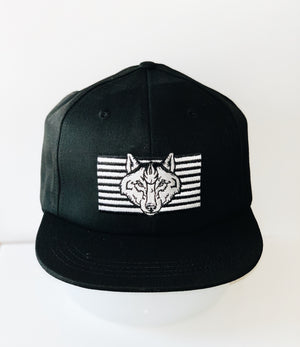 Striped Wolf Hat
