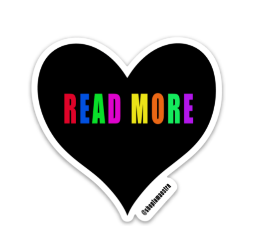Read More Heart Sticker