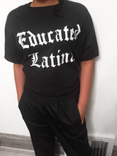 Load image into Gallery viewer, Educated Latina Childrens Tee