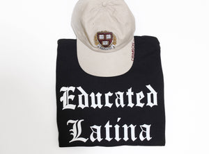 Shop La Maestra 'Educated Latina' Adult Tee