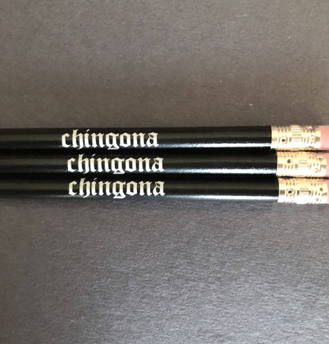 Expressive Pencils-'Chingona' and 'Educated Latina'