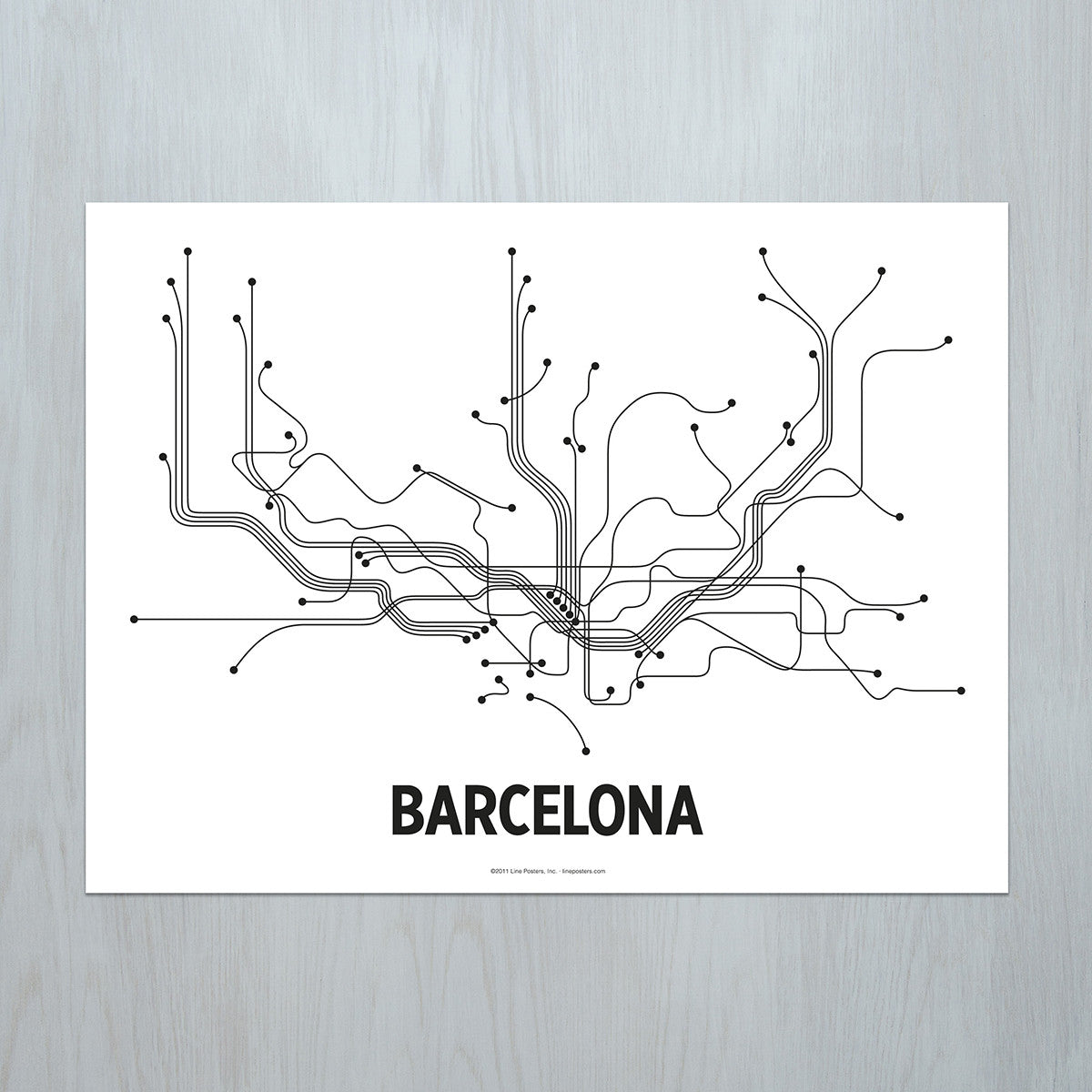 LinePosters - Barcelona