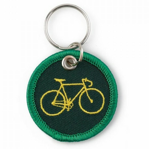Bicycle Patch Keyring
