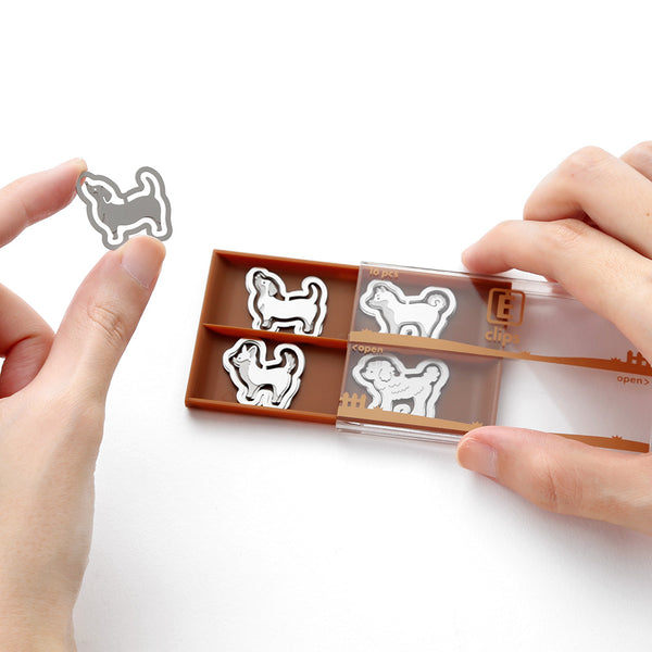 Dogs Metal Paperclips