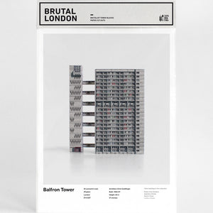 Balfron Tower Cut-Out Model