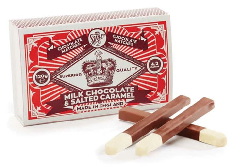 Salted Caramel Chocolate Matchsticks