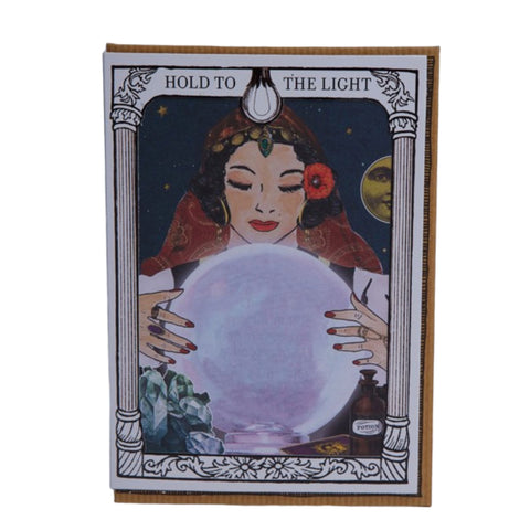 Fortune Teller Hold to Light Card