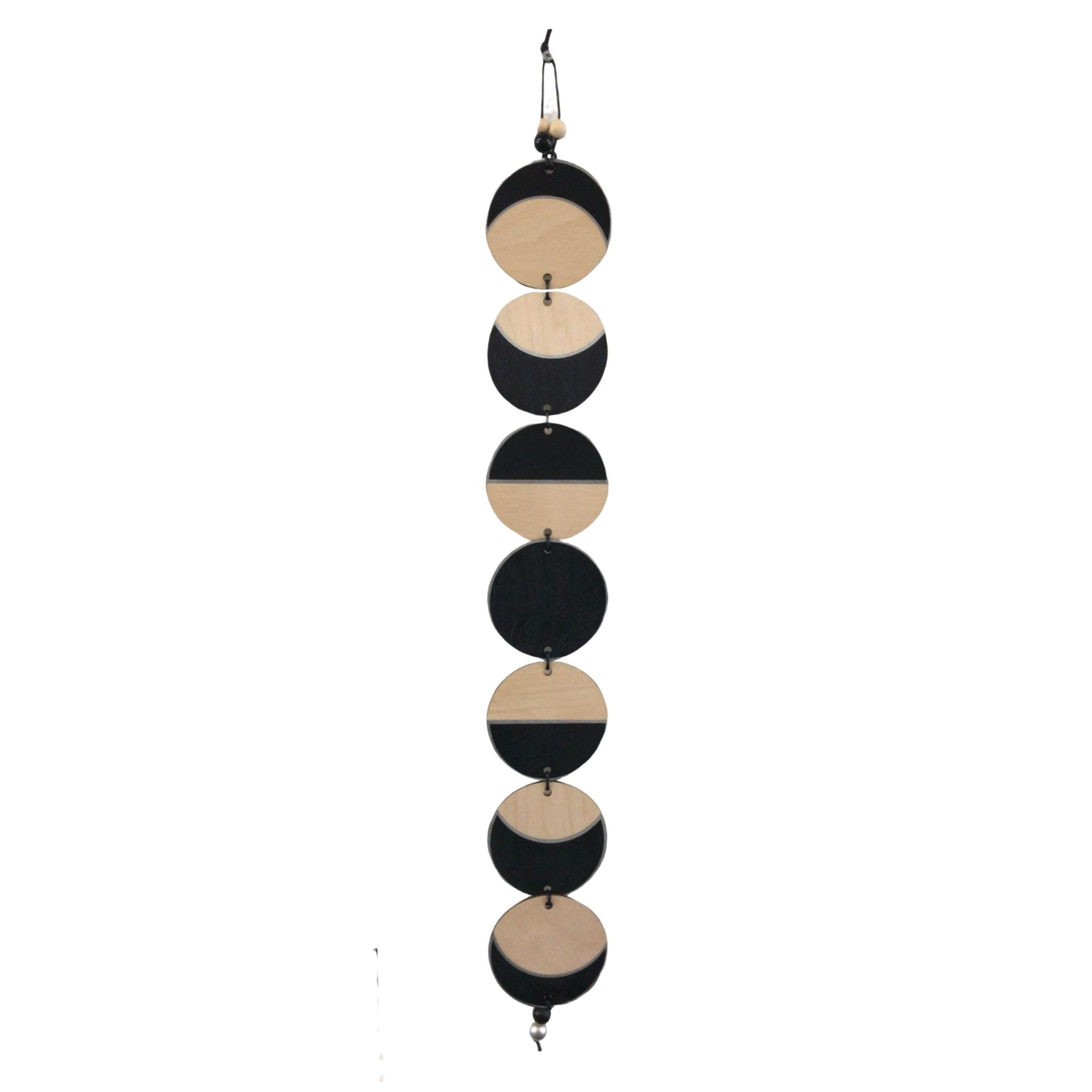 Phases of the Moon Wall Hanging - Silver
