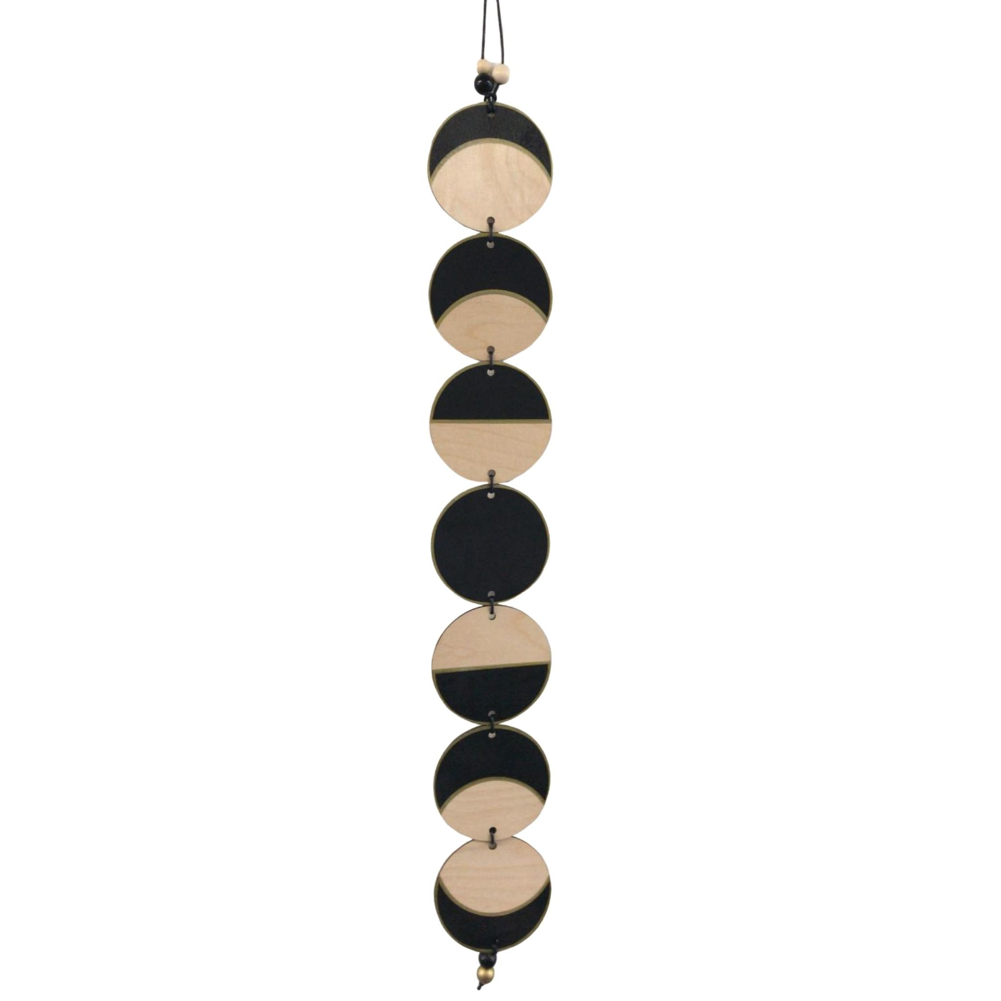 Phases of the Moon Wall Hanging - Gold