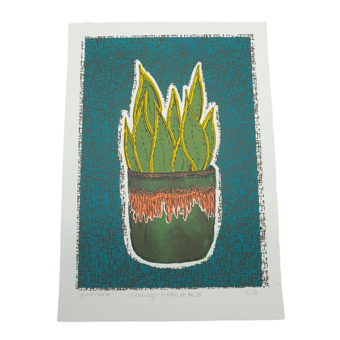 Cedarlily Plant Screenprint