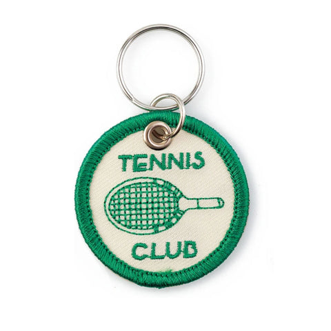 Tennis Patch Keyring