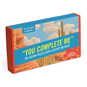 You Complete Me Message Jigsaw