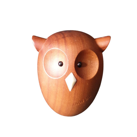 Vintage Wooden Animals - Owl