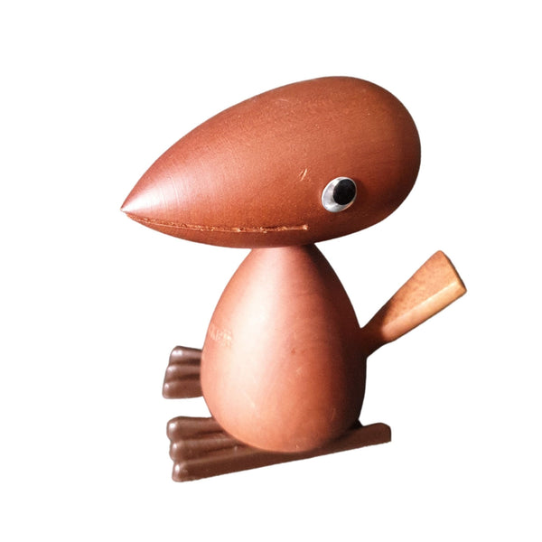 Vintage Wooden Animals - Woodpecker