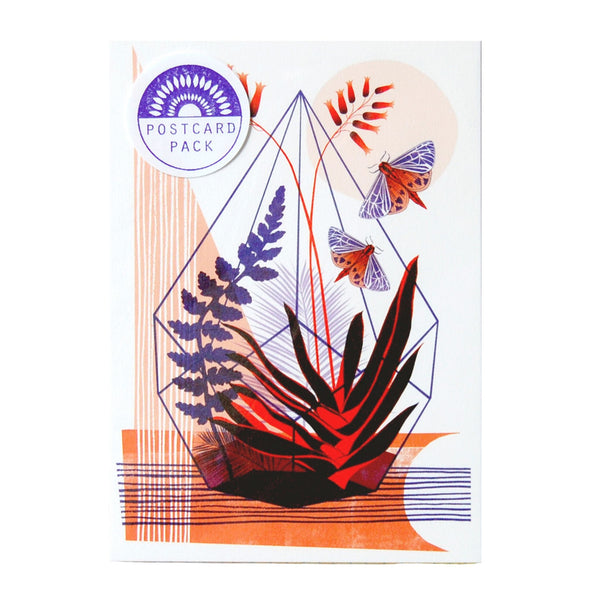 Pack of 6 Botanical Postcards
