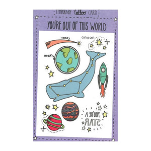 Space Tattoo Card