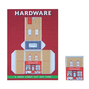Paper Street Cut Out Card - Hardware
