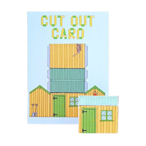 Cut Out Cards - Garden Shed