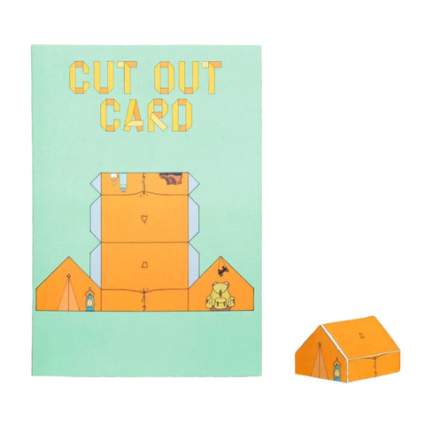 Cut Out Cards - Scout Tent