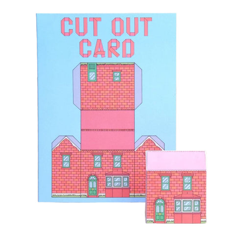 Cut Out Cards - Town House