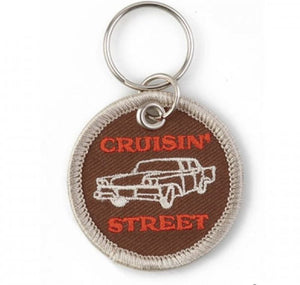 Car Patch Keyring