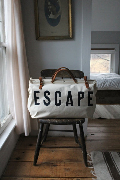 White Escape Bag