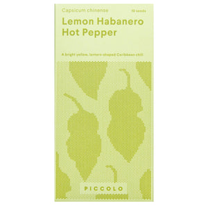 Lemon Habanero Hot Pepper