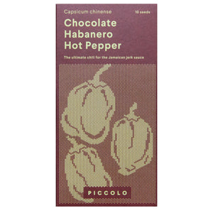 Chocolate Habanero Hot Pepper Seeds