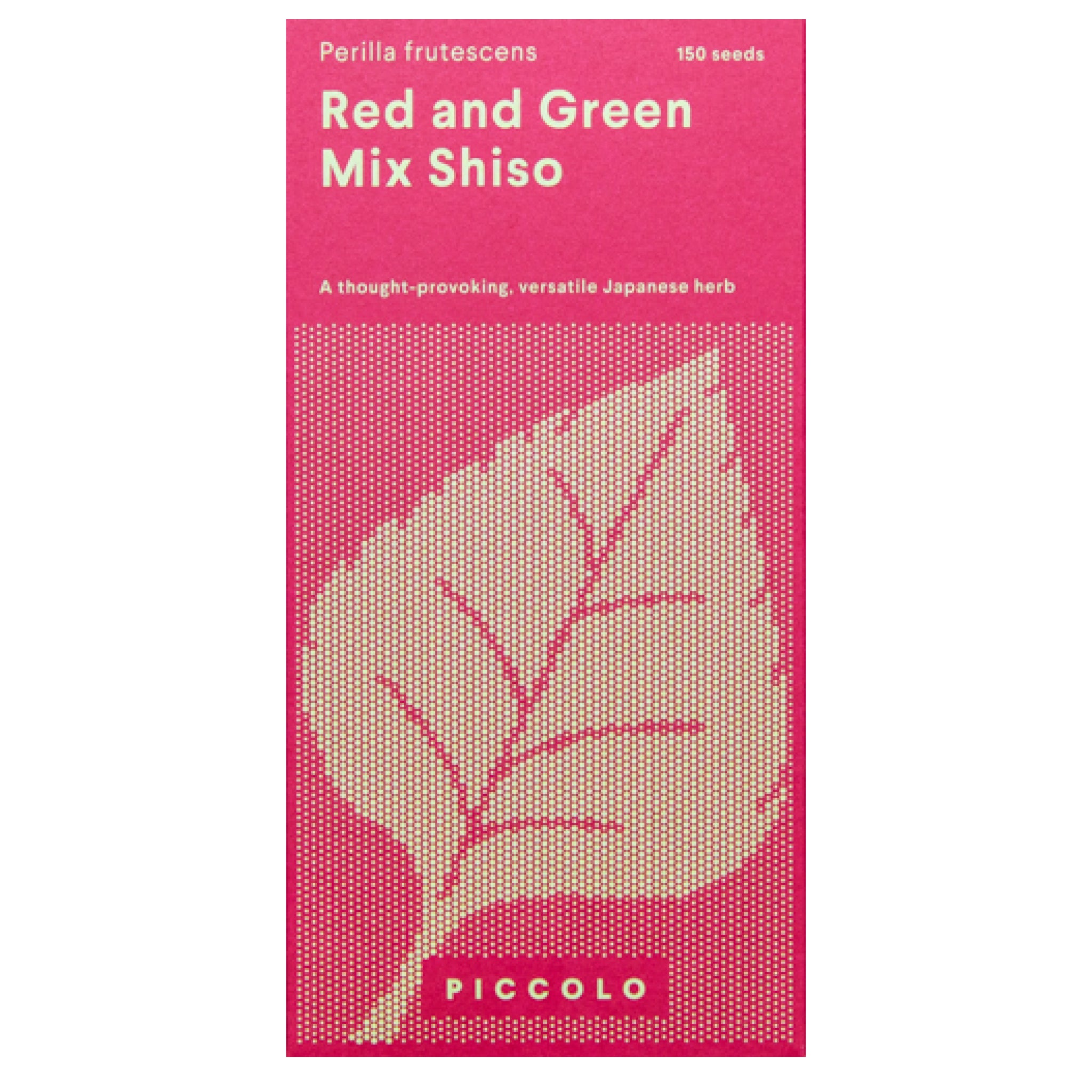 Red & Green Shiso Mix Seeds