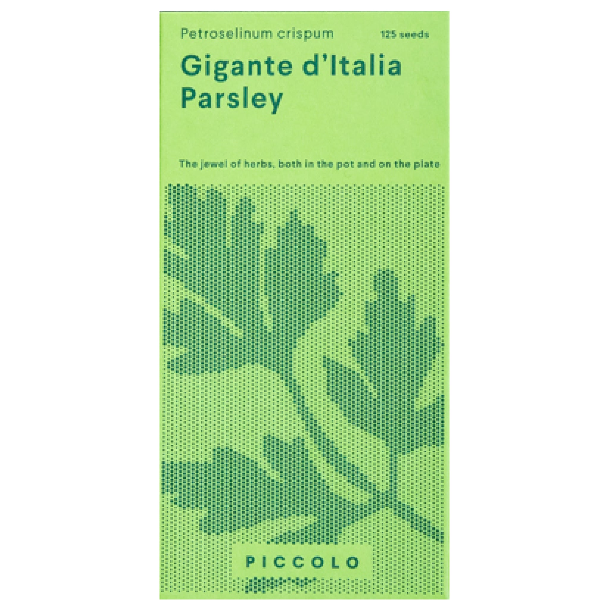 Gigante d'Italia Parsley Seeds