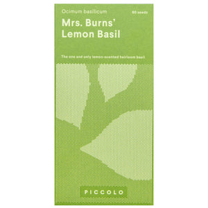 Mrs Burns' Lemon Basil Seeds