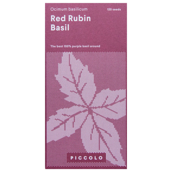 Red Rubin Basil Seeds
