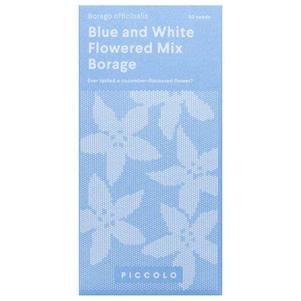 Blue and White Flowered Mix Borage Seeds