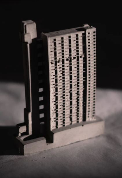 Concrete Mini Models - Trellick Tower