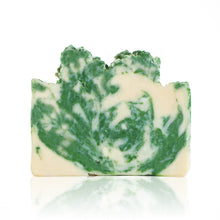 Load image into Gallery viewer, BC in a bar, if you've ever been in the forests of the Pacific Northwest after the rain then you know this scent. The evergreen aroma gives you that post-hike feeling from the comfort of your bathroom. Handmade, natural, vegan, olive oil soap. Made on Vancouver Island in BC, Canada.