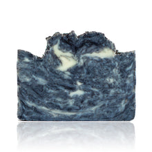 Load image into Gallery viewer, This staff favourite combines spearmint essential oil with vanilla and a dose of activated bamboo charcoal to detoxify the skin. Its rich, creamy lather complements the out of this world scent perfectly. Handmade, natural, vegan, olive oil soap. Made on Vancouver Island in BC, Canada.
