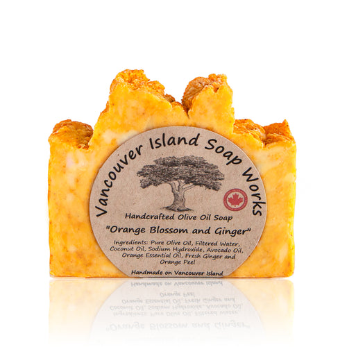 This is clean and uplifting scent combines seamlessly with our rich olive oil soap to cater perfectly to those of us with normal to oily skin. Handmade, natural, vegan, olive oil soap. Made on Vancouver Island in BC, Canada.