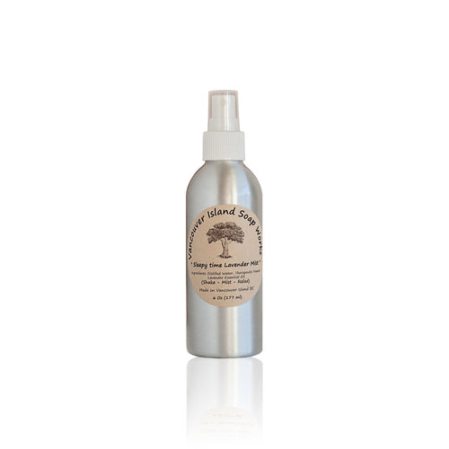 This all-natural room spray will soothe your mood and delicately carry you off to sleep. Natural room spray scented with essential oils. Made on Vancouver Island in BC, Canada.