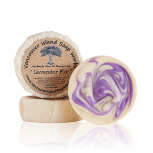 Lavender Fir Shampoo Bar