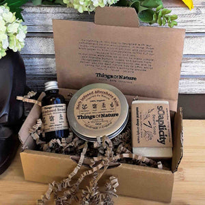 Eco Gift Box: Mens Grooming Set - Things of Nature