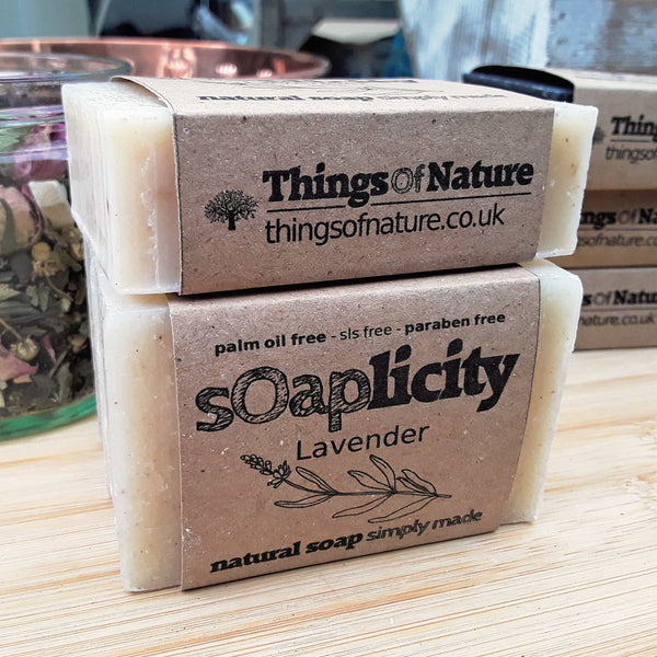 Solid Soap Bar: Lavender Soap-Soaps-Things of Nature