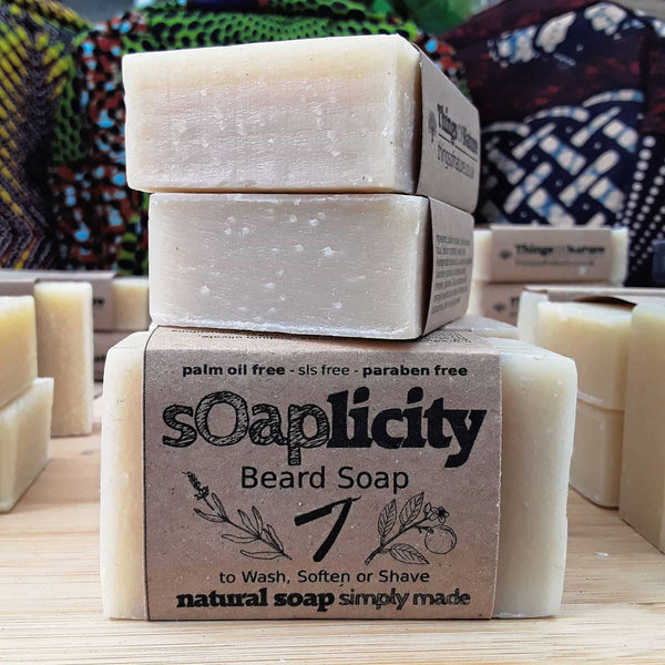 Solid Soap Bar: Beard Soap-Soaps-Things of Nature