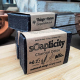 Solid Soap Bar: Charcoal Detox - Things of Nature