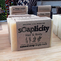 Solid Shampoo & Soap Bar: Hair & Body-Soaps-Things of Nature