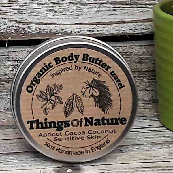 All Natural Body Butter: Sensitive - Things of Nature