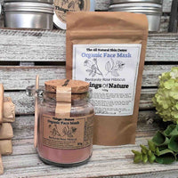 Rose hibiscus face mask - Things of Nature