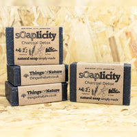 Solid Soap Bar: Charcoal Detox-Soaps-Things of Nature