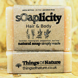 Solid Shampoo & Soap Bar: Hair & Body - Things of Nature